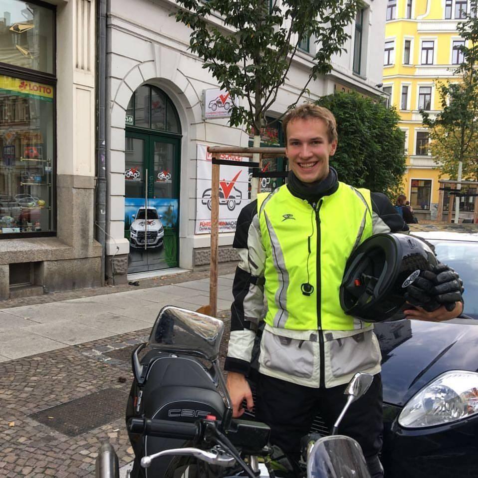 Motorrad Prüfung
