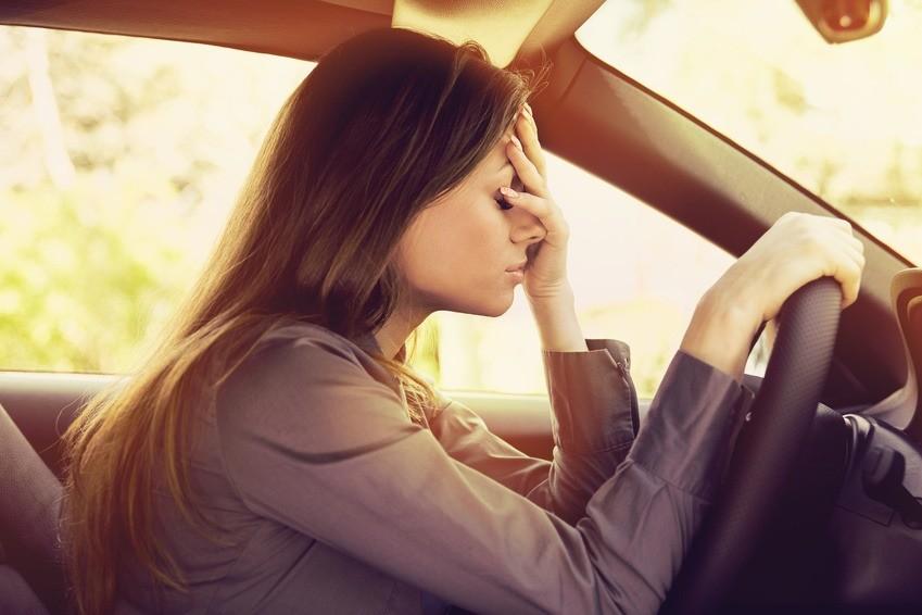 Angst Auto Fahren