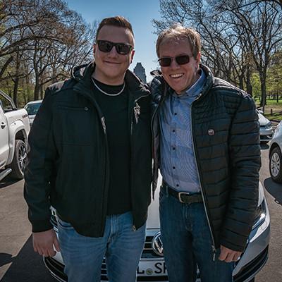 Jens und Steve Kirchner