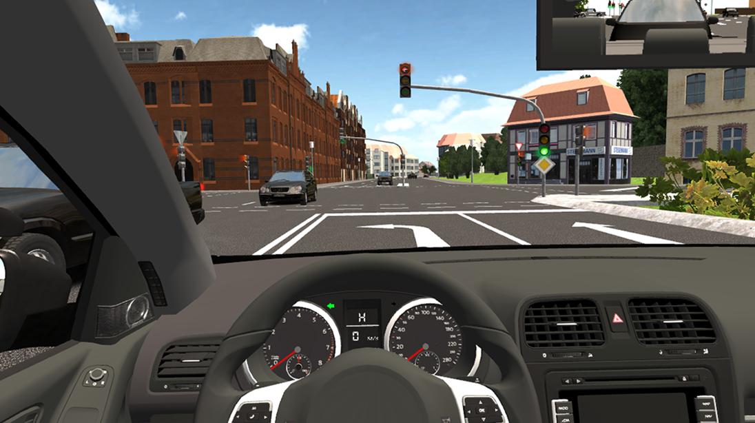 Simulator-Fahrschule